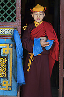 Monks at Gesar Sum Monastery