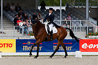 NZL-Megan Heath (ST DANIEL) 2012 GER-HSBC Luhmuhlen International Horse Trial - CCI****-Dressage Friday