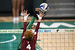 Tulane falls to Temple, 3-1, in volleyball action.