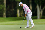 Narisara Kerdrit of Thailand putts on the green during the first round of the EFG Hong Kong Ladies Open at the Hong Kong Golf Club Old Course on May 11, 2018 in Hong Kong. Photo by Marcio Rodrigo Machado / Power Sport Images