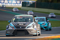 #9 B3 Racing Team Hungary (HUN). SEAT Leon TCR. Attila Tassi (HUN). TCR Race 1 as part of the WEC 6 Hours of Spa-Francorchamps 2016 at Circuit Spa-Francorchamps, Stavelot, Spa-Francorchamps, Belgium . May 06 2016. World Copyright Peter Taylor/PSP.