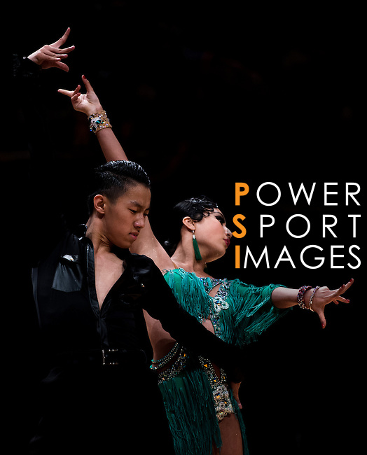 Dancers during the Day 1 of the WDSF GrandSlam Hong Kong 2014 on May 31, 2014 at the Queen Elizabeth Stadium Arena in Hong Kong, China. Photo by AItor Alcalde / Power Sport Images