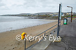 An empty Ballyheigue beach on Saturday