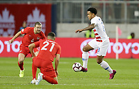 TORONTO, ON - OCTOBER 15: Weston McKennie #8 of the United States moves with the ball during a game between Canada and USMNT at BMO Field on October 15, 2019 in Toronto, Canada.