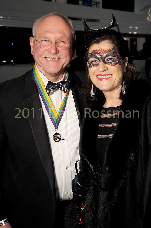 Ellie and Mike Francisco at the 20th San Luis Salute Friday Feb. 05, 2016.(Dave Rossman photo)