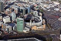 aerial photograph Petco Park San Diego, California
