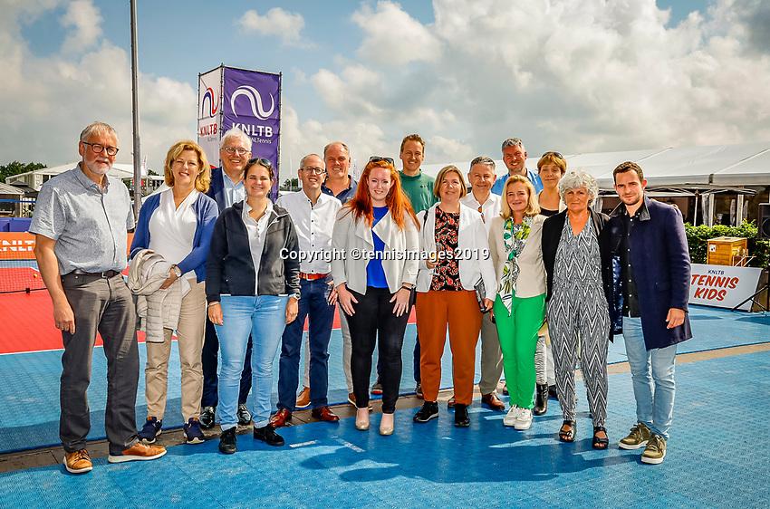 Rosmalen, Netherlands, 15 June, 2019, Tennis, Libema Open, Ledenraad<br /> Photo: Henk Koster/tennisimages.com