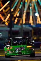 22-25 January, 2009, Daytona Beach, Florida USA.#67 TRG Porsche GT3 of Jorg Bergmeister, Andy Lally, Patrick Long, Justin Marks & R.J. Valentine.©F.Peirce Williams 2009.F.Peirce Williams.photography