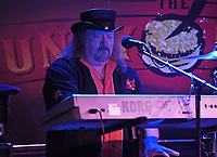 BOCA RATON - FEBRUARY 26: John Galvin of Molly Hatchet performs at The Funky Biscuit on February 26, 2021 in Boca Raton, Florida. Credit: mpi04/MediaPunch