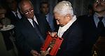 MIKHAIL GORBACIOV CON MARIA PIA FANFANI<br /> COCKTAIL PARTY IN ONORE DI GORBACIOV - HOTEL BAGLIONI ROMA 11-2000