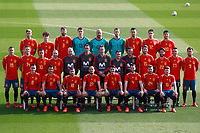 Spain national football players and technical staff pose with their new jerseys at the 'Ciudad del Futbol' ahead of their World Cup 2018 friendly football match against Costa Rica. November 8,2017.(ALTERPHOTOS/Acero) /NortePhoto.com