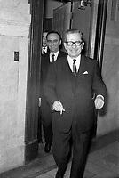 ARCHIVE - <br /> Le Premier ministre Daniel Johnson, Mars1968<br /> (date exacte inconnue), Quebec<br /> <br /> PHOTO :  AQP -  Photo Moderne