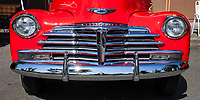 Chevrolet Chome Grill Detail, Return to Renton Auto Show 2017, Washington, USA.
