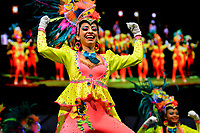 BARRANQUILLA-COLOMBIA, 19-01-2020: Fiesta de Comparsas en el marco del Carnaval de Barranquilla.  / Comparsas Party in the framework of the Barranquilla Carnival. / Photo: VizzorImage / Alfonso Cervantes / Cont.