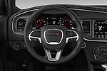 Car pictures of steering wheel view of a 2019 Dodge Charger GT 4 Door Sedan Steering Wheel