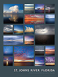 """""""St. Johns River: Florida"""" 18x24 poster from the Burning Daylight Series (desc capt)"""