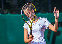 Hilversum, Netherlands, August 5, 2021, Tulip Tennis center, National Junior Tennis Championships 16 and 18 years, NJK, Girls single 18 years, Florentine Dekkers (NED)<br /> Photo: Tennisimages/Henk Koster