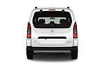 Straight rear view of 2016 Citroen BERLINGO-MULTISPACE XTR+ 5 Door Mini MPV Rear View  stock images