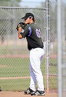 Ethan Hollingsworth / Colorado Rockies 2008 Instructional League..Photo by:  Bill Mitchell/Four Seam Images
