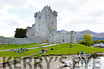 Ross Castle Killarney on the May bank Holiday Saturday during the lock down