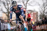 David van der Poel (NED/Alpecin Fenix)<br /> <br /> Men Elite Race<br /> UCI Cyclocross Worldcup – Hoogerheide (Netherlands)<br /> <br /> ©kramon