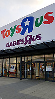 Pictured: The Toys R Us store in Swansea, Wales, UK. Wednesday 28 February 2018<br /> Re: Toys R Us have announced that they are in administration by Moorfields.