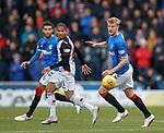 03.11.2018: St Mirren v Rangers: Simeon Jackson and Joe Worrall
