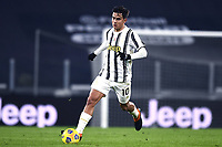 3rd January 2021, Allianz Stadium, Turin Piedmont, Italy; Serie A Football, Juventus versus Udinese;  Paulo Dybala comes forward on the ball