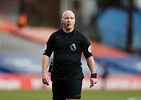13th March 2021; Selhurst Park, London, England; English Premier League Football, Crystal Palace versus West Bromwich Albion;  Referee Simon Hooper