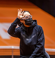 Den Bosch, The Netherlands, April 15, 2021,    Maaspoort, Billy Jean King Cup  Netherlands -  China : Draw ,   <br /> Photo: Tennisimages/Henk Koster