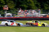 #19: Brandon Jones, Joe Gibbs Racing, Toyota Supra Menards/NRG and #2: Tyler Reddick, Richard Childress Racing, Chevrolet Camaro Nationwide Children's Hospital