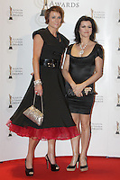 12/2/11 Deirdre O'Rourke and Deirdre O'Kane on the red carpet at the 8th Irish Film and Television Awards at the Convention centre in Dublin. Picture:Arthur Carron/Collins