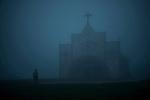 The church of Mawsynram in East Khashi Hills. About 80% of the Khasi population are Christians . Arindam Mukherjee