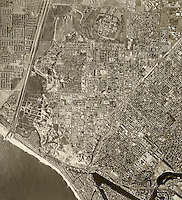 historical aerial photograph Costa Mesa, 1972