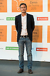 Pedro Yagüe poses for the photographers during 2015 Theater Ceres Awards photocall at Merida, Spain, August 27, 2015. <br /> (ALTERPHOTOS/BorjaB.Hojas)