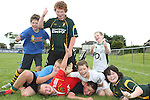 at the Summer Camp in Boyne Rugby Football Club...Picture Jenny Matthews/Newsfile.ie