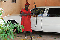 NIGER Zinder, palace of Sultan DAMAGARAM<br />