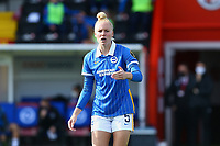 Danique Kerkdijk of Brighton & Hove Albion during Brighton & Hove Albion Women vs Arsenal Women, Barclays FA Women's Super League Football at Broadfield Stadium on 11th October 2020