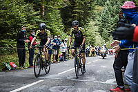 Stage 9 from Pau to Laruns 153km<br /> 107th Tour de France 2020 (2.UWT)<br /> (the 'postponed edition' held in september)<br /> ©kramon
