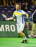 09-02-13, Tennis, Rotterdam, qualification ABNAMROWTT, Matwe Middelkoop