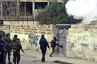 - Jerusalem, January 1989, Israeli police, during the repression of a demonstration, attack a girls' school in the Arabic side of the city with tear gas<br /> <br /> - Gerusalemme, Gennaio 1989, la polizia Israeliana, durante la repressione di una manifestazione, attacca una scuola femminile nella parte Araba della città con gas lacrimogeni