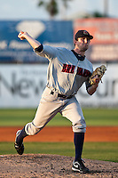Josh Butler (30) of the Brevard County Manatees during a game vs. the Daytona Beach Cubs May 25 2010 at Jackie Robinson Ballpark in Daytona Beach, Florida. Daytona won the game against Brevard by the score of 5-3.  Photo By Scott Jontes/Four Seam Images