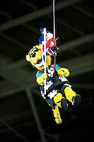 09.11.2014.  London, England.  NFL International Series. Jacksonville Jaguars versus Dallas Cowboys. Jaxson the Jacksonville Jaguars mascot makes his entrance.