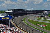 Alexander Rossi, Andretti Autosport Honda,Charlie Kimball, Carlin Chevrolet, Matheus Leist, A.J. Foyt Enterprises Chevrolet