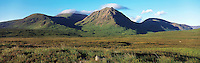 © David Paterson.Stob a' Glais Choire and the hills of east Glencoe in spring. Scottish Highlands...Keywords: hills, mountains, peaks, range, ridge, summit, spring, Glencoe, Scotland, Highlands, peace, quiet, tranquil, hill-walking