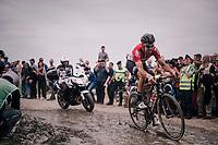Jelle Wallays (BEL/Lotto-Soudal)<br /> <br /> 116th Paris-Roubaix (1.UWT)<br /> 1 Day Race. Compiègne - Roubaix (257km)