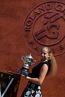 Internationaux de france de tennis de Roland Garros 2017 - Jelena Ostapenko