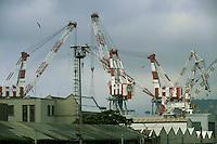 - Genova , cantieri navali Fincantieri di Sestri Ponente c<br /> <br /> - Genoa, Fincantieri shipyard  in Sestri Ponente