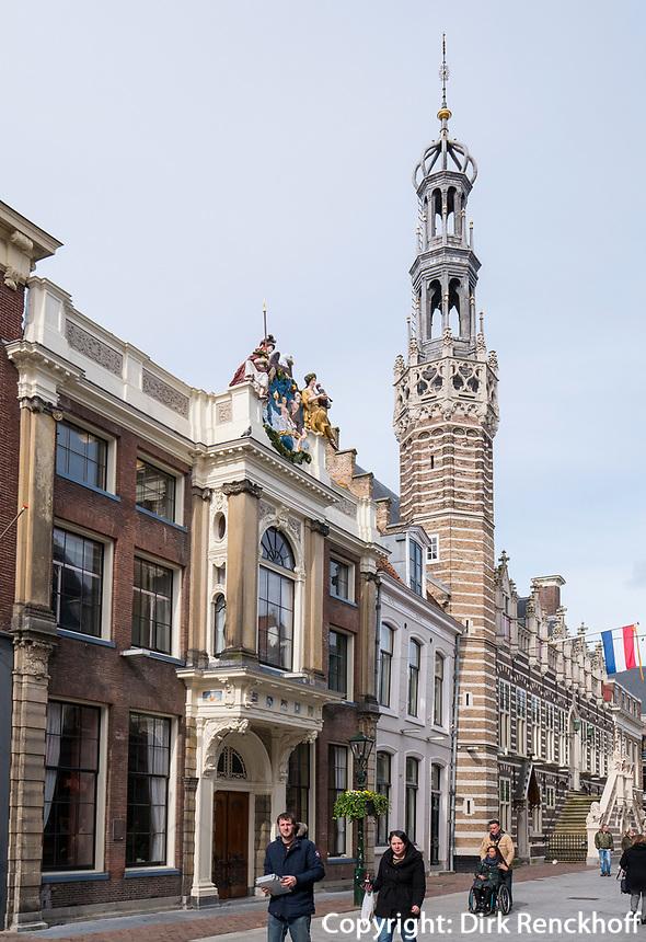 Rathaus in Alkmaar, Provinz Nordholland, Niederlande<br /> City Hall  in Alkmaar, Province North Holland, Netherlands