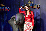 Sonia Ferrer attends to Dumbo premiere at Principe Pio Theatre in Madrid, Spain. March 27, 2019. (ALTERPHOTOS/A. Perez Meca)